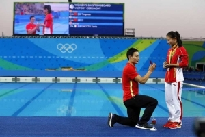 Photos: Chinese diver